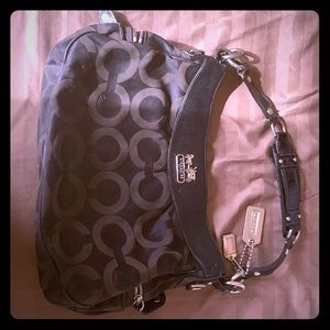 Coach black hobo purse.  Authentic. Gently used